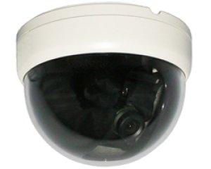 画像1: 高画質小型カラードームカメラ