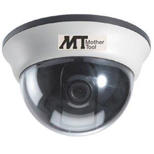 画像1: 小型白黒ドームカメラ