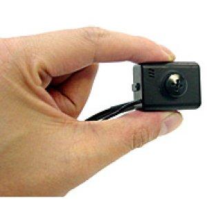 画像1: 特殊レンズ形状 マイク内蔵 超小型 カラーカメラ
