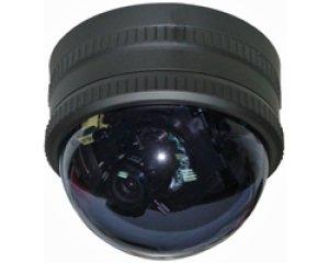画像1: バリフォーカルオートアイリスレンズ搭載カラードームカメラ