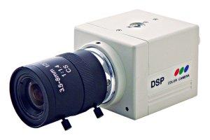 画像1: 低価格BOX型カラーカメラ