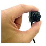 特殊レンズ形状 マイク内蔵 超小型 カラーカメラ