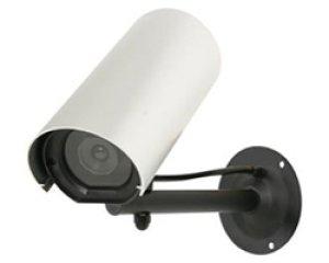 画像1: 屋外設置用ダミーカメラ